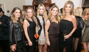 Mirella Muller, Paula de Lara Bau, Paula Borcath, Angela Reinert e Ana Paula Leão.