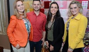 Tathyane Celante, Gustavo Celante, Pauline Moraes e Bárbara Penha.