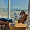 Lounge Star Alliance: convite ao descanso entre uma viagem e outra.