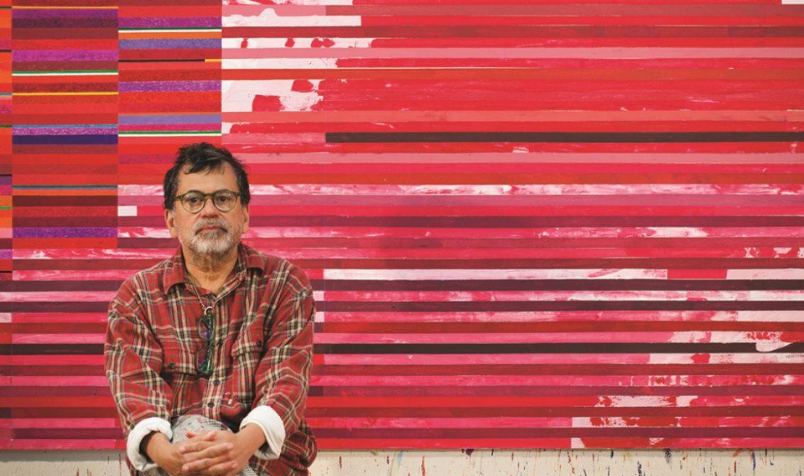 """Gonçalo Ivo: """"No fundo, me sinto um pintor com um pé no século 13 e outro no século 21"""". (Foto: Sergio Guerini/Divulgação)"""