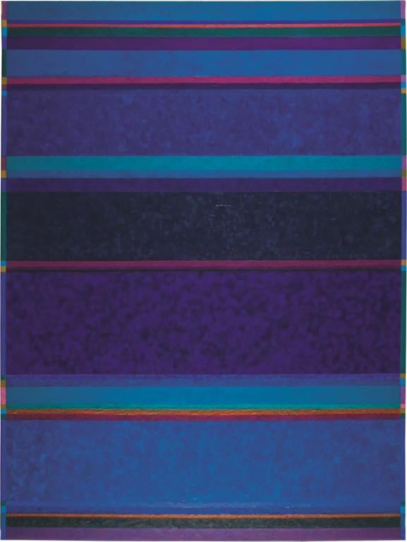 """Tissu Naga"", óleo sobre tela, 200 x 150cm, 2009 (Foto: Sergio Guerini)"
