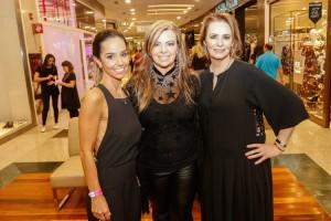 Silvia Omairy, Bruna Esmanhoto, Jacqueline Lemos.