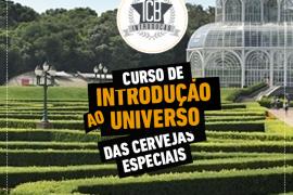 Curitiba recebe, em maio, a primeira edição do curso de Introdução ao Universo das Cervejas.