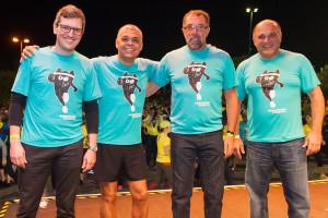 Alexandre Bley, Antonio Carlos de Farias, Rached Rajar Traya e Wanderley Silva.