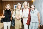 Denise Maximiliano, Jenifer Porto, Daniele Lopes e Ana Claudia Michelin.