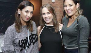 Dani Mello, Roberta Busato e Gabriela Lopes.