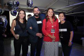 Selma Romanoff, Alex Dias, Graziela Fuzzo e Livia Nakamura.