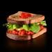 Sanduíches, saladas, sucos naturais e açaí: não faltam opções saudáveis no novo cardápio da hamburgueria Frens | Foto: Marcelo Krelling/Frens.