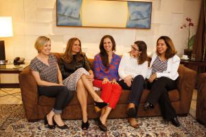 Fanie Delatte, Denise Cassou, Priscyla Alma, Dani Sommer e Renata Gardiano.