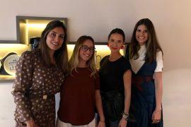 Nicole Hauer, Natasha Bernal, Renata e Mariana Cassou.