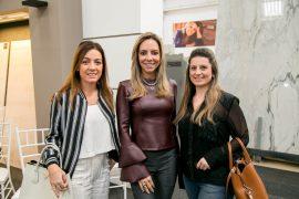 Barbara Sganzerla, Debora Merhy e Larissa Nesello.