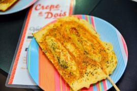 As opções gastronômicas da Rua 24 Horas se reúnem para o festival Sábado na 24 Horas | Foto: Priscilla Fiedler.