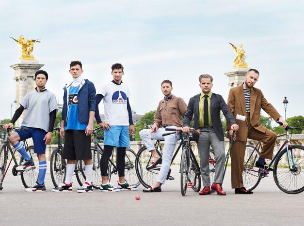 O designer Christian Louboutin reuniu um time internacional para um torneio de Bike Polo | Foto: Divulgação.