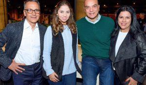 Solon Cassal, Carolina Leal Ribas, Marcos Bicudo e Denise Leal Ribas.