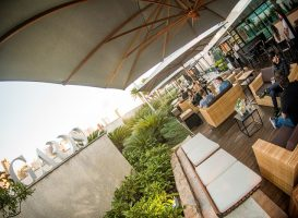 Entre os eventos da semana, está a festa junina do GARDS Rooftop Bar.