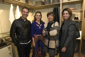 Marcos Soares, Cláudia Bazan de Magalhães, Olga Bergamini e Claudia Guerios.
