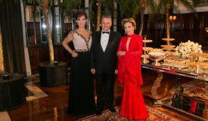 Karina Guedes Bley, Gláucio Bley Filho e Eliana Farracha de Castro.