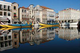 Aveiro é uma das cidades onde é possível encontrar a arte urbana de Portugal.