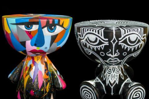 Objetos da exposição Toys, de Jayme Bernardo, participam de leilão virtual beneficente.