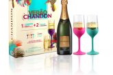 O Kit Chandon Brut Colors Collectionsai por R$125.