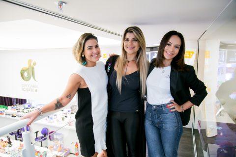 Clientes Vip da Drogaria Iguatemi Gabriela-Lopes, Sabrina Dalmolin e Fabbi-Cunha