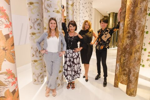 Talita Nogueira, Zilda Fraletti, Jo Goslar e Rafael Chaouiche