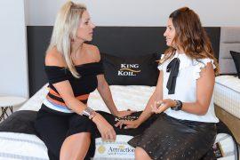 King Koil Colchões de Curitiba Brunch das Mulheres A proprietária da King Koil, Leatrice Albino e a arquiteta Carla Kiss