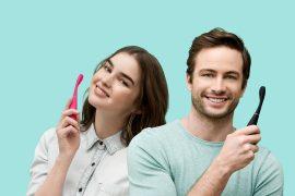 escova de dente elétrica Issa