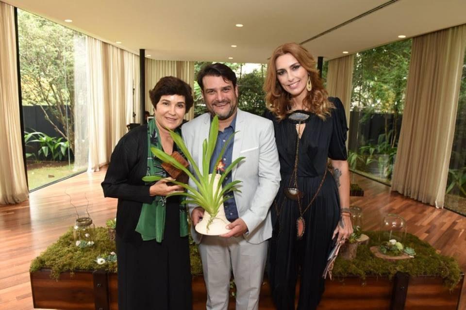 Osklen recebeu EcoEra 2018 Nina Braga, Maurício Brusadin e Chiara Gadaleta