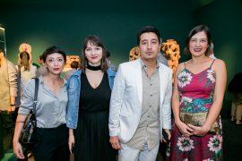 Exposição asiática Museu Oscar Niemeyer Yasmin Taketani, Luise Takashina, Greyci Casagrande e Marcus Yabe