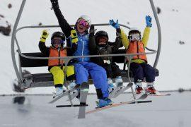 Two Kids Skis Free