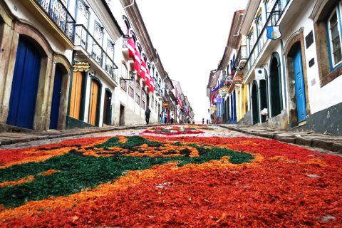 Corpus Christi em Ouro Preto (MG) (Foto: Divulgação)