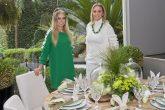 Páscoa da Villa Batel A arquiteta Fernanda Borio com a cliente Carolina Rocha Loures