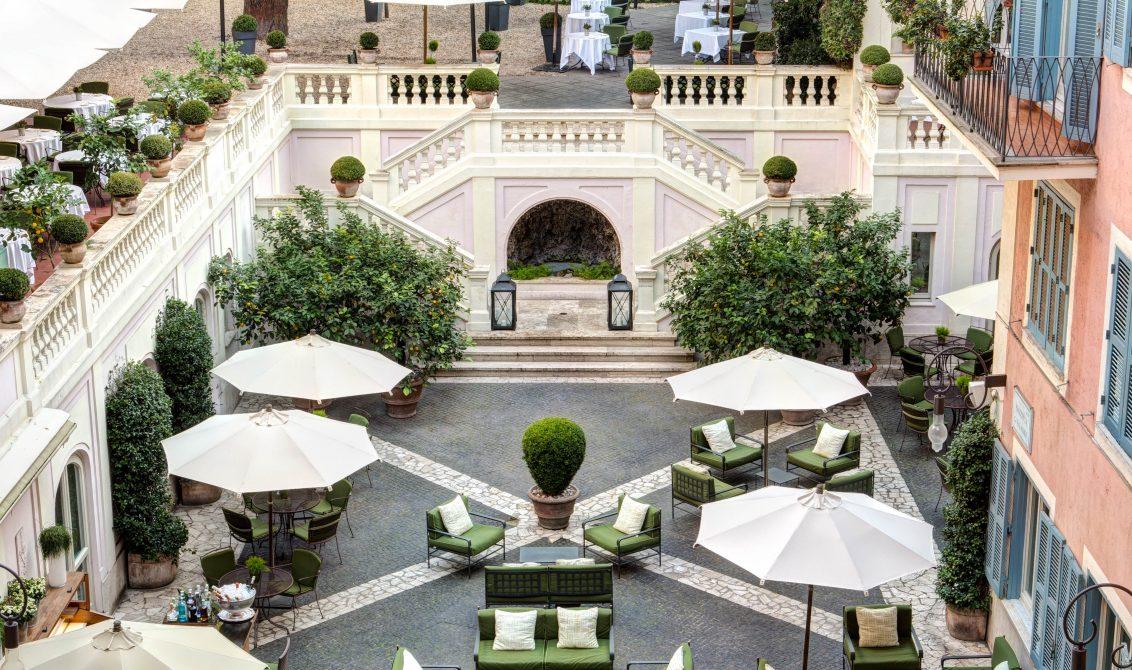 Hotel de Russie com grifes italianas