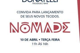 Lançamento Coleção Nômade da Donatelli Tecido