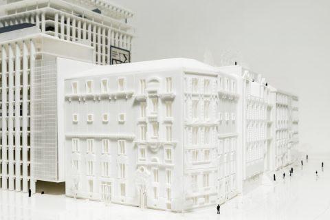 exposição da Triptyque Architecture