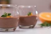 receita Arroz Doce de Chocolate e Laranja