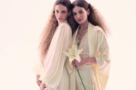 Camila Queiroz e Laura Neiva são a capa da Vogue Noiva