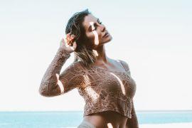 940b9e4ab A lingerie perfeita  Você encontra na Loungerie com muito desconto  3. Por  Redação. 13 de julho de 2018. Cleo Pires Liebe Lingerie Verão 2019