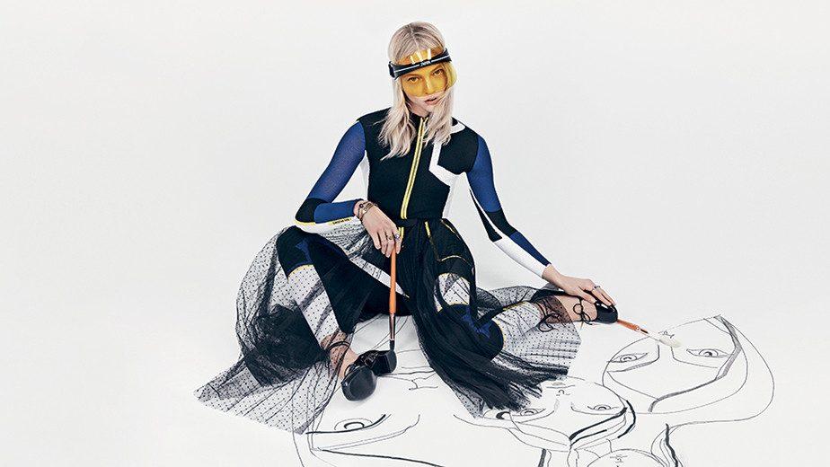 d50c00b950c Dior na Bazaar Fashion