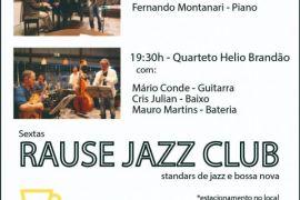 Rause Jazz Club no Espaço Thá