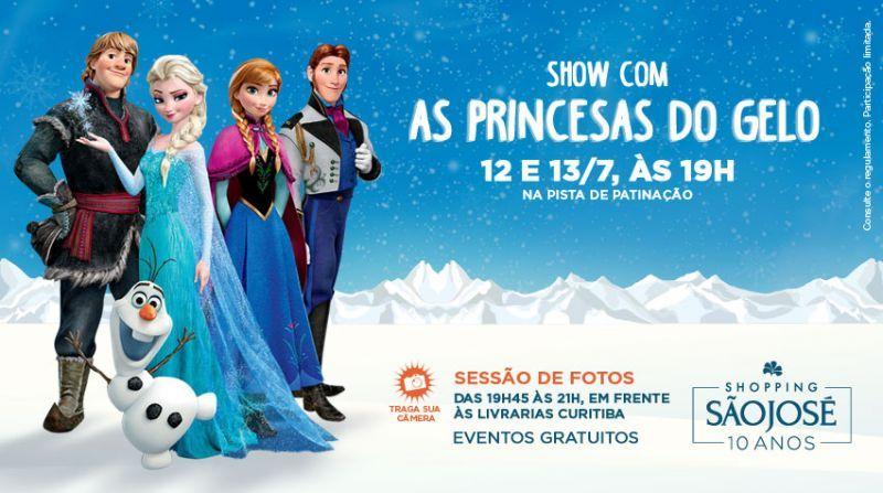 As Princesas Do Gelo noShopping São José