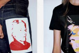 """Parceria """"Calvin Klein Andy Warhol"""" traz peças com autorretratos do artista"""