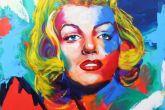 quadrosde Frida Kahlo e Marilyn Monroe