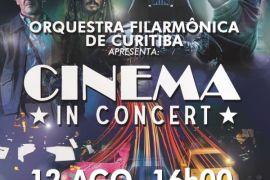 Cinema in Concert dia dos pais