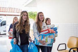 Instituto AMA Debutantes do Clube Curitibano realizam doação para 8 institutos sociais AMA-Crédito Cintya Hein