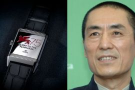 Diretor Zhang Yimou recebe o prêmio Jaeger-LeCoultre Glory to the Filmmaker