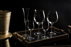 Luxo na mesa Cristais Strauss na feira de decoração Abup Home and Gift