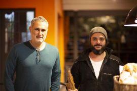 Eduardo Freire e Eduardo José Feliz. Foto: Gabriel Krambeck.