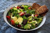 Comida vegetariana boa e barata